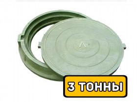 Люк полимерный (3 тонны), вес 35 кг